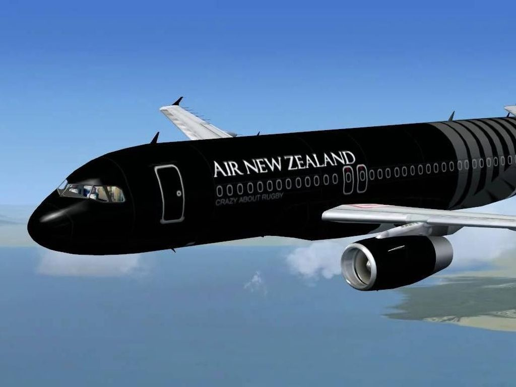 Tak Dapat Izin Mendarat di China, Air New Zealand Kembali ke Auckland
