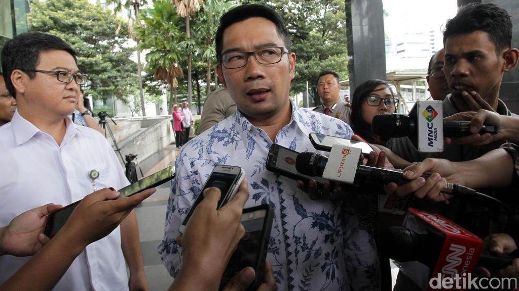 Ridwan Kamil akan Beri Sanksi Pejabat yang Lelang Proyek Mepet
