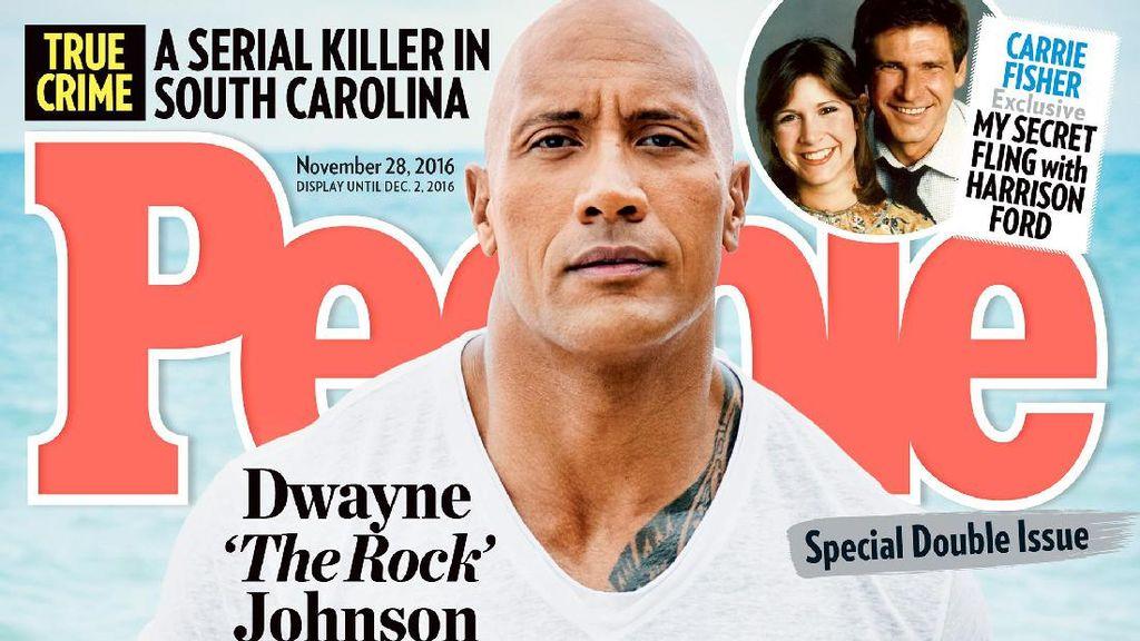 The Rock Dinobatkan Jadi Pria Terseksi Versi Majalah People