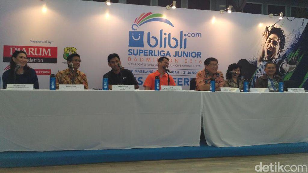 Piala Liem Swie King dan Piala Susy Susanti Siap Diperebutkan Pemain Junior