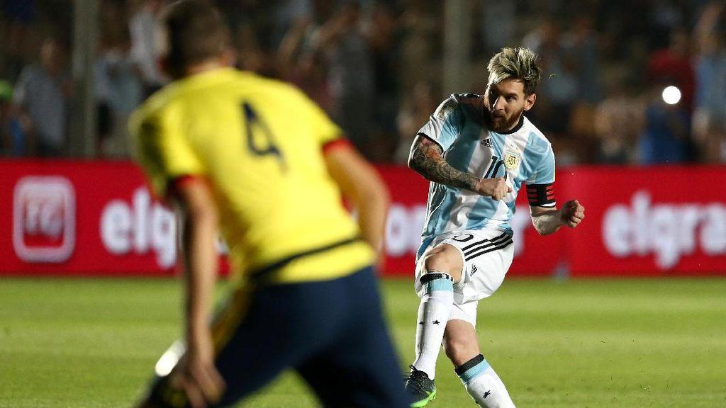 Argentina Cukur Kolombia 3-0
