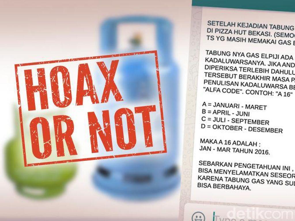 Pesan Berantai Tabung Elpiji Kedaluwarsa Pasca Tabung Meledak di PHD Bekasi