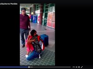 Sedih Banget! Tangisan Histeris Gadis Kecil yang Tidak Mau Ditinggal Ayahnya