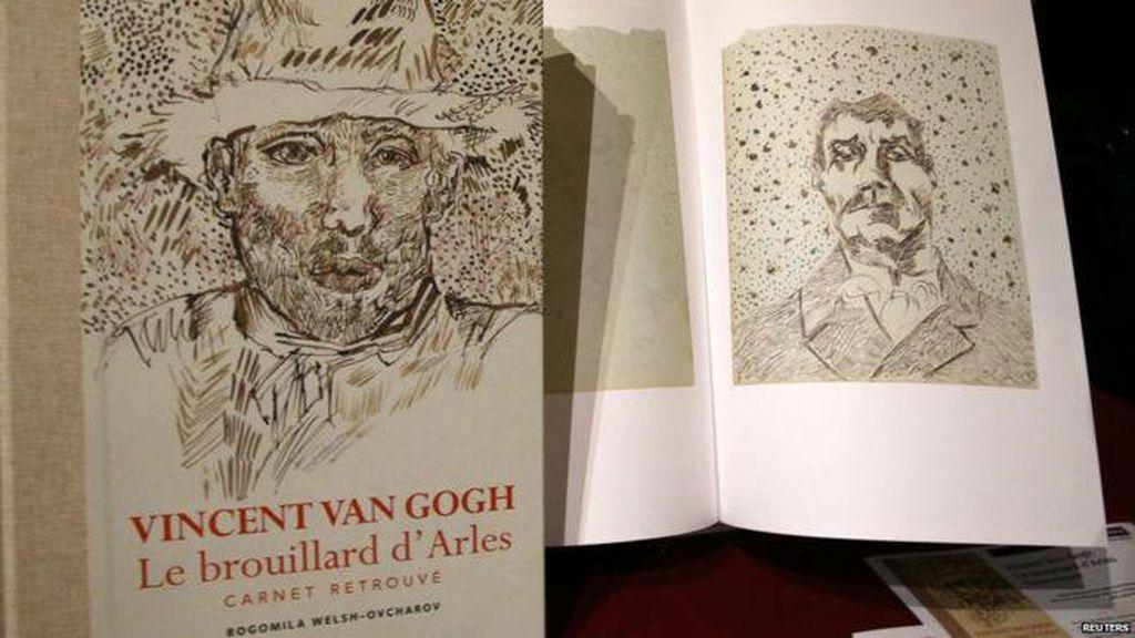 Buku Sketsa Van Gogh Dianggap Palsu