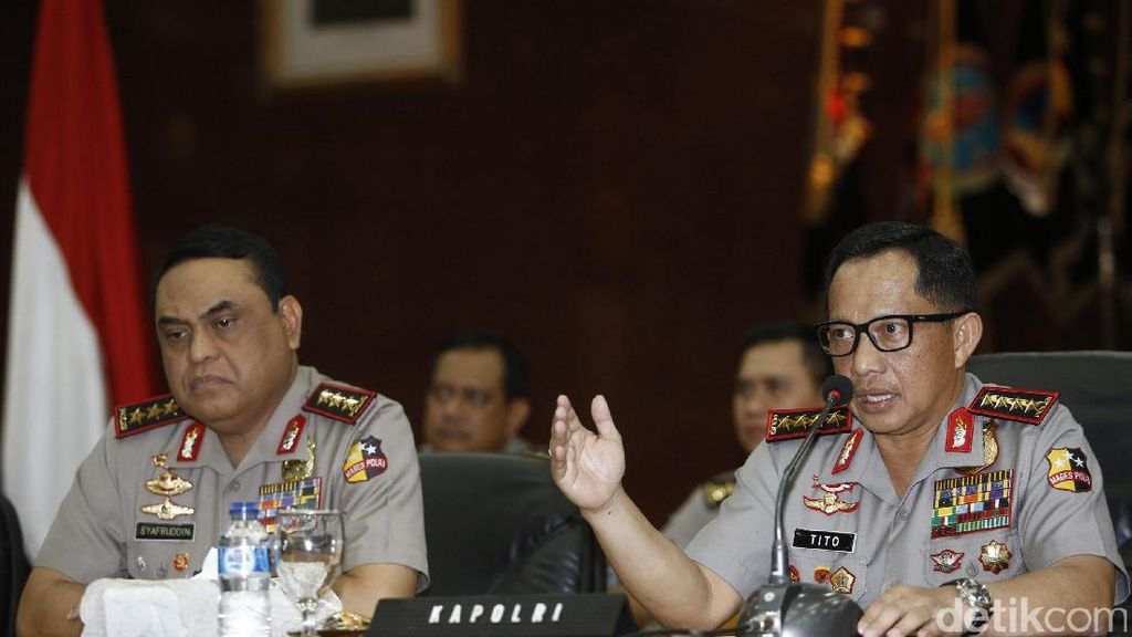 Tangkap Purn TNI Terkait Makar, Kapolri: Ini Masalah Hukum, Bukan Ditarget