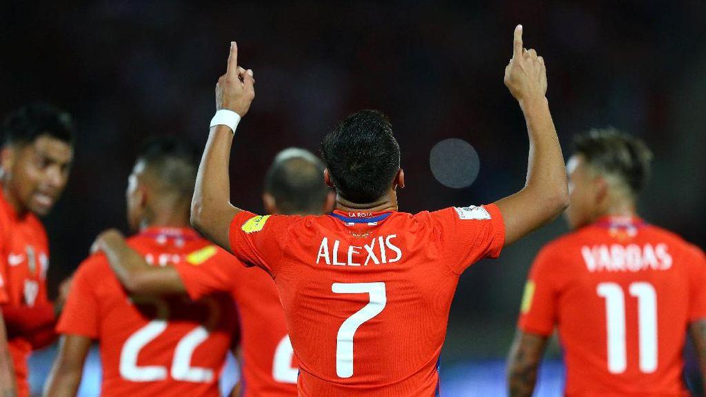 Chile Kalahkan Uruguay 3-1