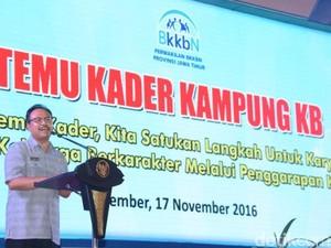 Program KB di Jatim Sukses Tekan Laju Pertumbuhan Penduduk