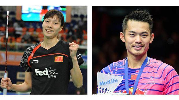 Xie Xingfang dan Lin Dan