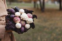 Buket Bunga yang Cantik Ini Terbuat dari Aneka Sayur dan Buah!
