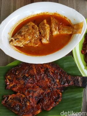 Lontong Tunjang & Ikan Bakar Jingkrak, Kuliner Sedap di Bengkulu