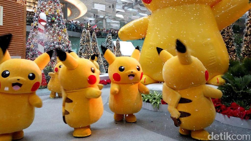 Ketika Pokemon Menyerbu Bandara Changi di Singapura