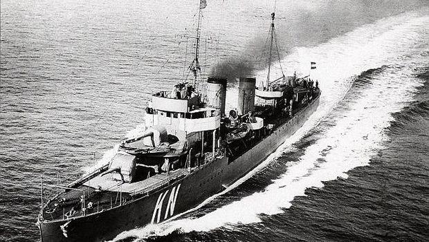 Kapal Korteaner diambil tahun 1930
