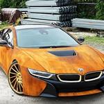 Bodi BMW i8 Ini Dibikin Seperti Penuh Karat