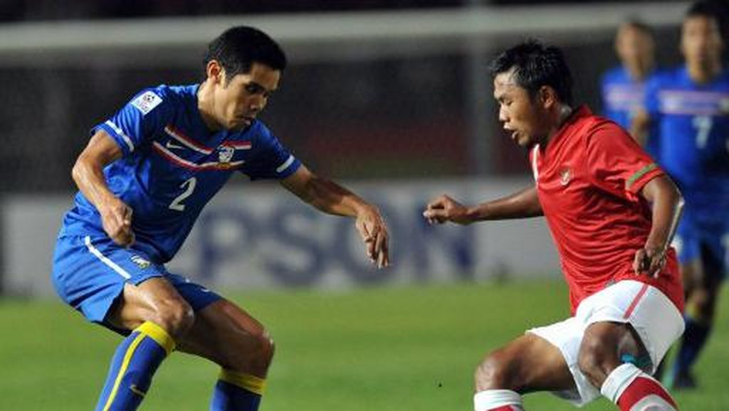 Rekor Head to Head Thailand vs Indonesia