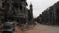 Bukan Kota Hantu, Ini Properti Film di Studio Terbesar Rusia