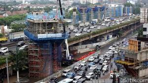 Penampakan Terkini Proyek MRT Jakarta
