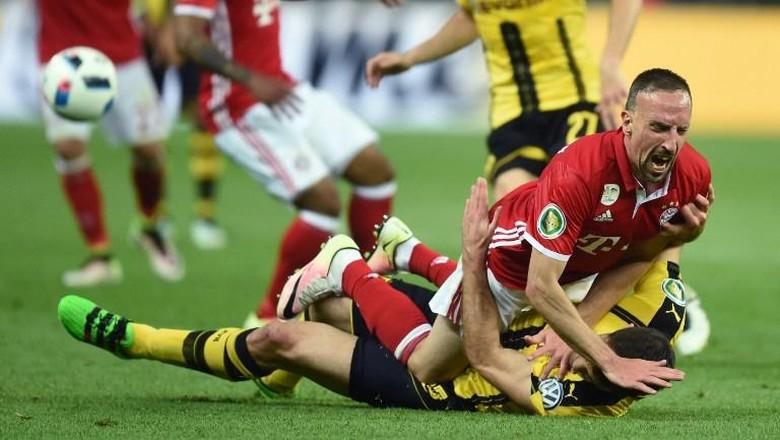 """Bandar Bola - Ribery Janji Akan Jaga Emosi Saat Hadapi Dortmund"""