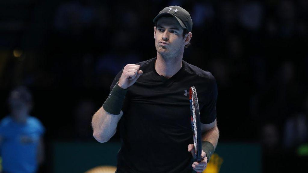 Taklukkan Wawrinka, Murray Lolos ke Semifinal