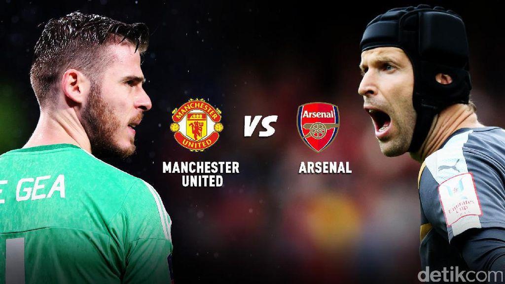MU vs Arsenal di Twitter, Menang Siapa?
