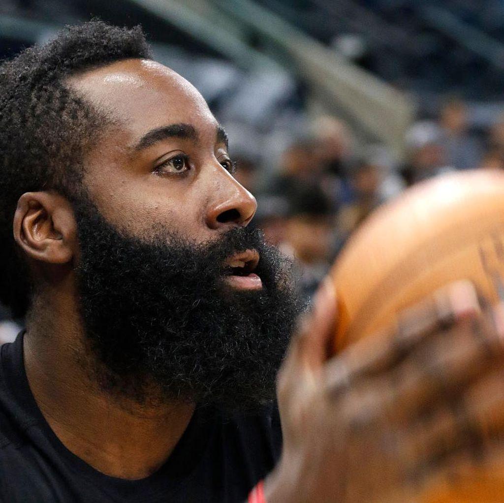 Triple-Double Harden Bantu Rockets Kalahkan Trail Blazers