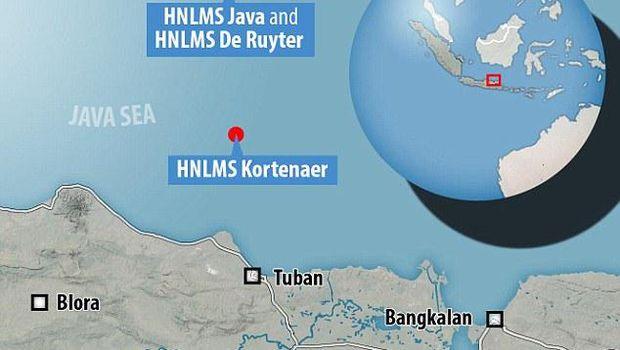 Ini Foto 3 Kapal Perang Belanda yang Hilang di Indonesia.