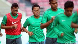 Timnas Indonesia Jajal Lapangan Jelang Lawan Thailand