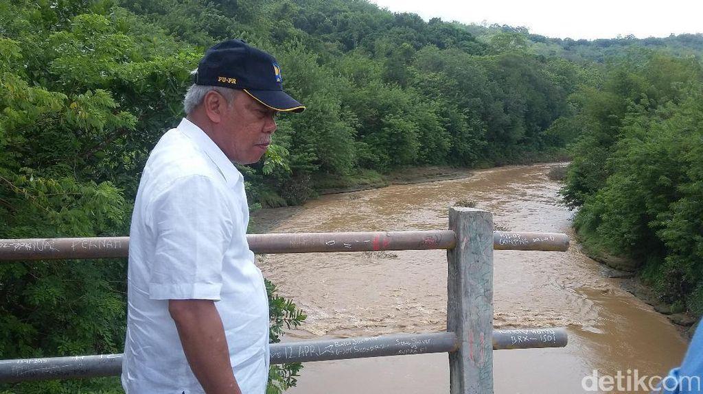 Tinjau Jembatan Hancur Akibat Gempa 2006, Menteri PUPR Tawarkan Perbaikan