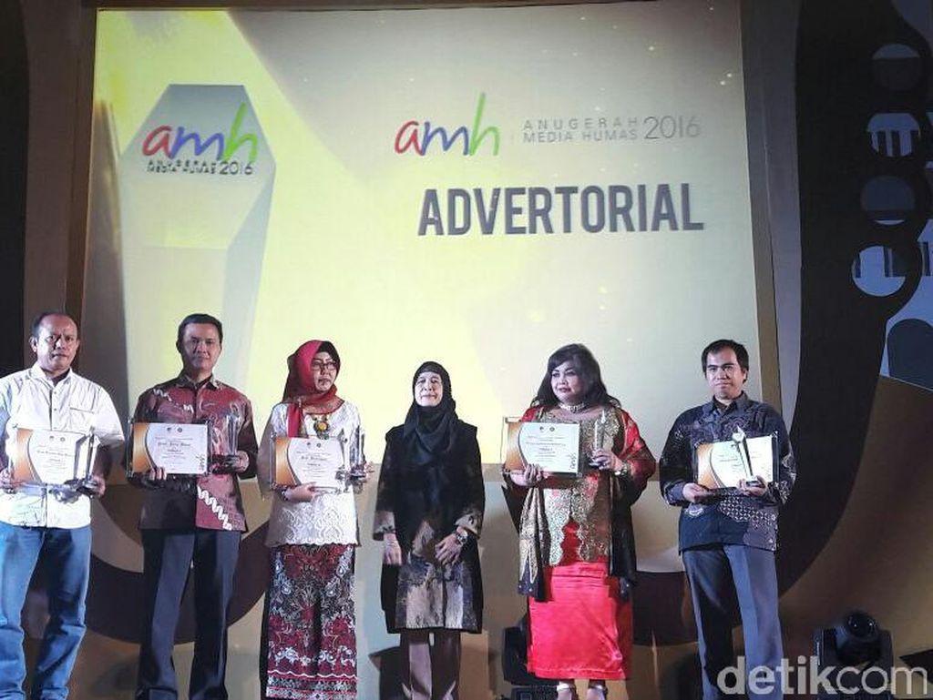 Humas Pemprov Jawa Barat Raih Penghargaan di Ajang AMH