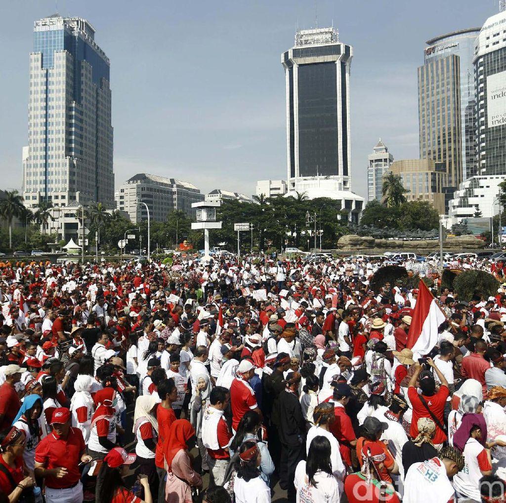 Partai Pendukung Pemerintah akan Gelar Parade Bhinneka Tunggal Ika Besok