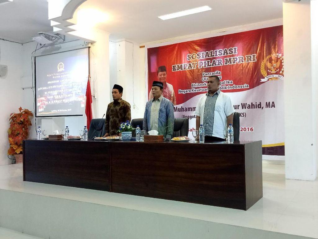 Soal Demo 2 Desember, Wakil Ketua MPR: Semua Harus Hadirkan Situasi Kondusif