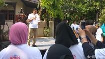 Kampanye di Jagakarsa, Sandiaga Uno: Saya Berani Melawan Pengembang