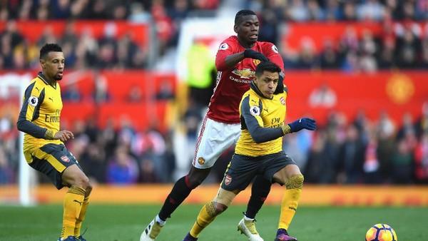 Akankah Catatan Buruk Arsenal Lawan MU Berlanjut?