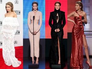<i>Love It</i>! Deretan Penampilan Gigi Hadid di AMA 2016