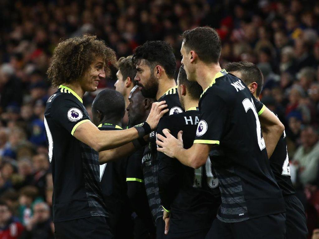 Laju Impresif Chelsea Berbuah Puncak Klasemen