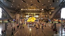 Megahnya Bandara Qatar, Tak Mau Kalah dengan Dubai