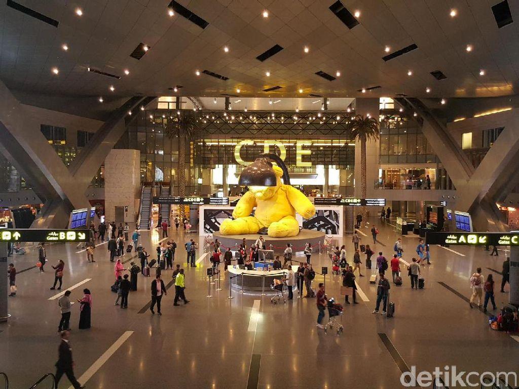 Megah & Mewah, Bandara Qatar Ini Saingannya Bandara Dubai