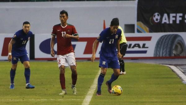 Rekor Indonesia Saat Segrup dengan Thailand di Piala AFF