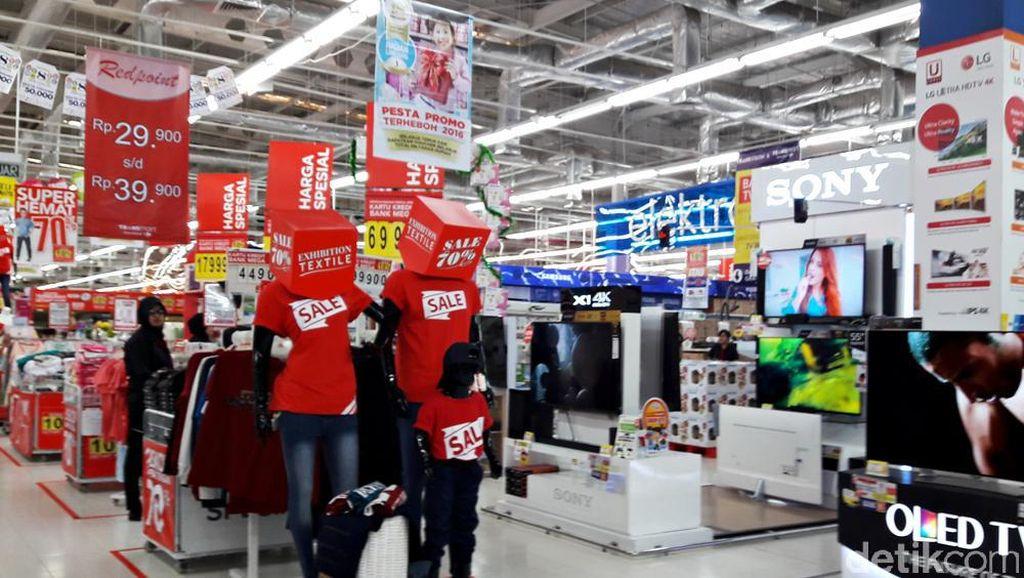 Diskon Sampai 70% di Ledakan Akhir Tahun Transmart Carrefour