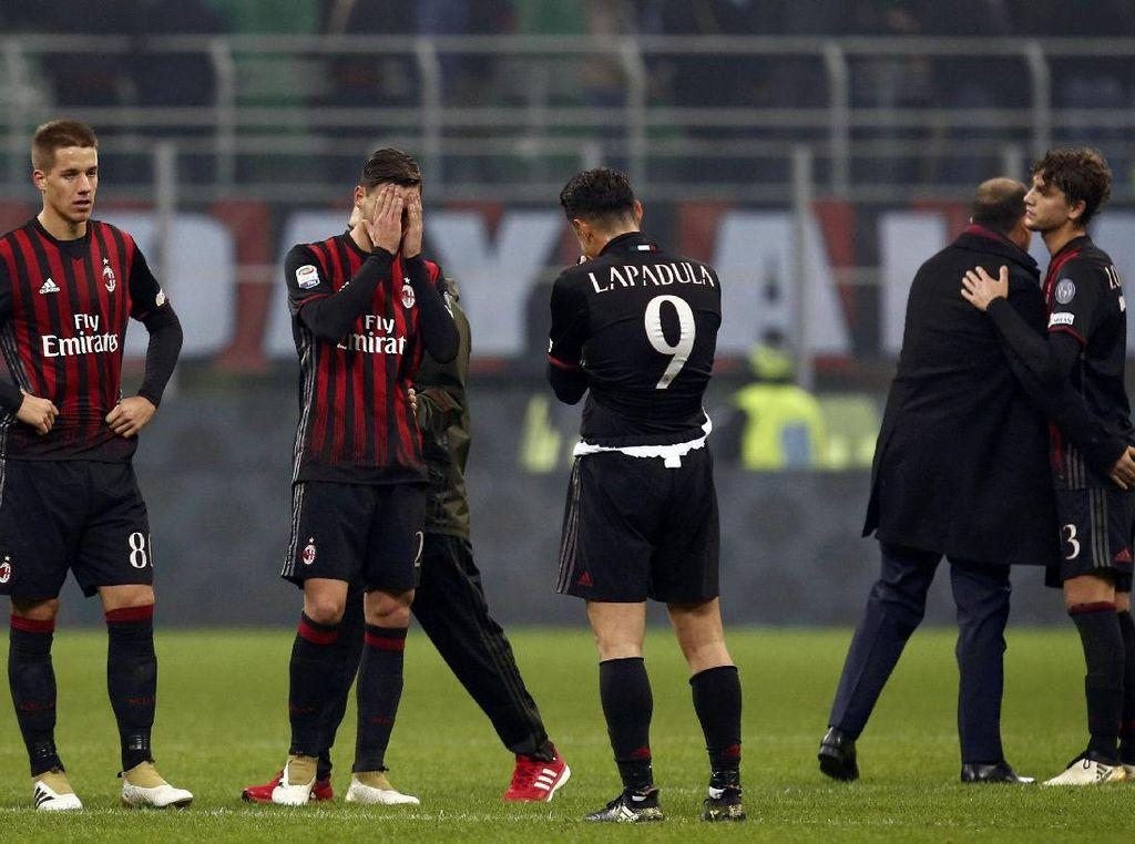 Kecewanya Milan Gagal Jaga Keunggulan di Ujung Laga