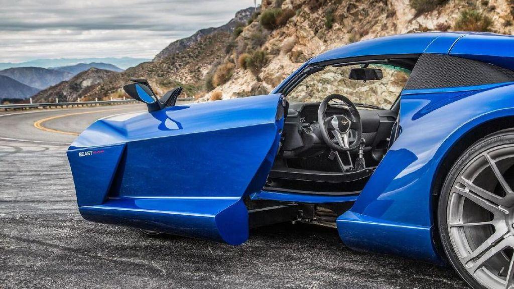 Beast Alpha, Mobil Bertenaga 500 Daya Kuda dengan Pintu SideWinder