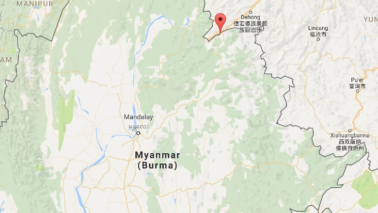 8 Orang Tewas Saat Bentrok Di Perbatasan China Dan Myanmar