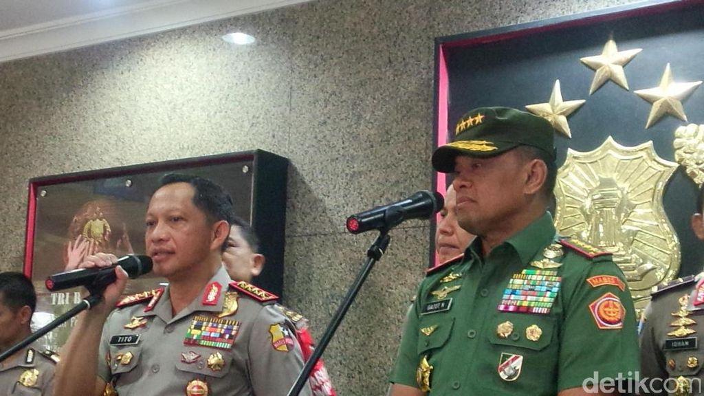 Kapolri dan Panglima TNI Direncanakan Hadiri Doa Bersama 1212 di Bandung