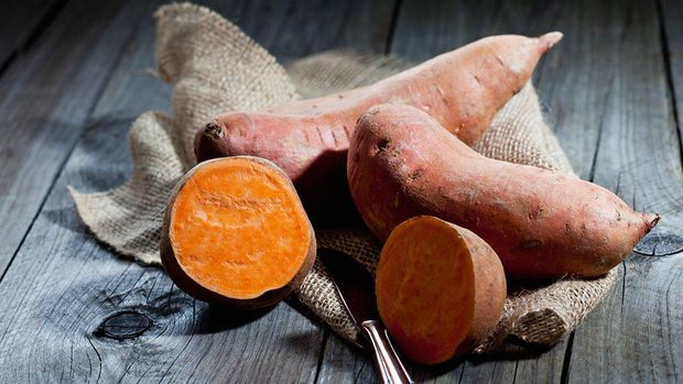 Sweet Potato Puree, MPASI Mudik yang Praktis dan Lezat