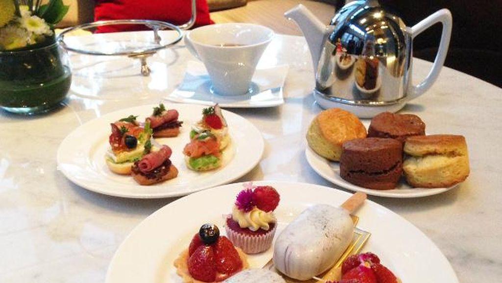 Tartlets dan Cake Pops Cantik Bisa Dinikmati dalam Sweet Luxury High Tea