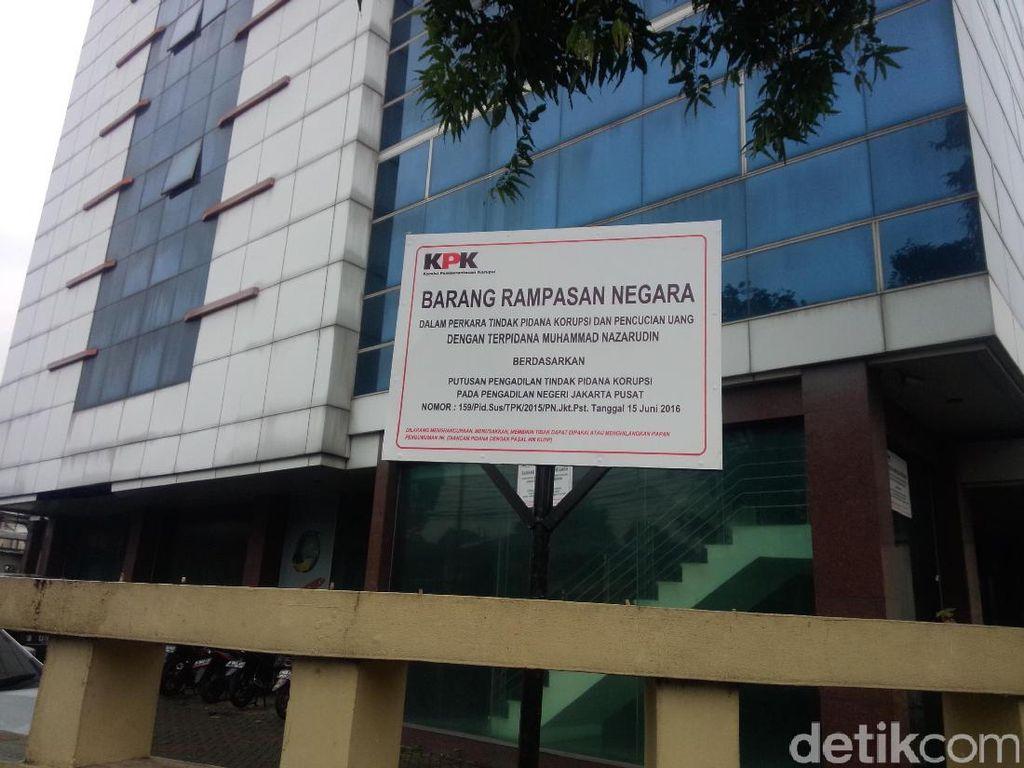 Ini Penampakan Gedung Milik Nazaruddin yang Disita KPK
