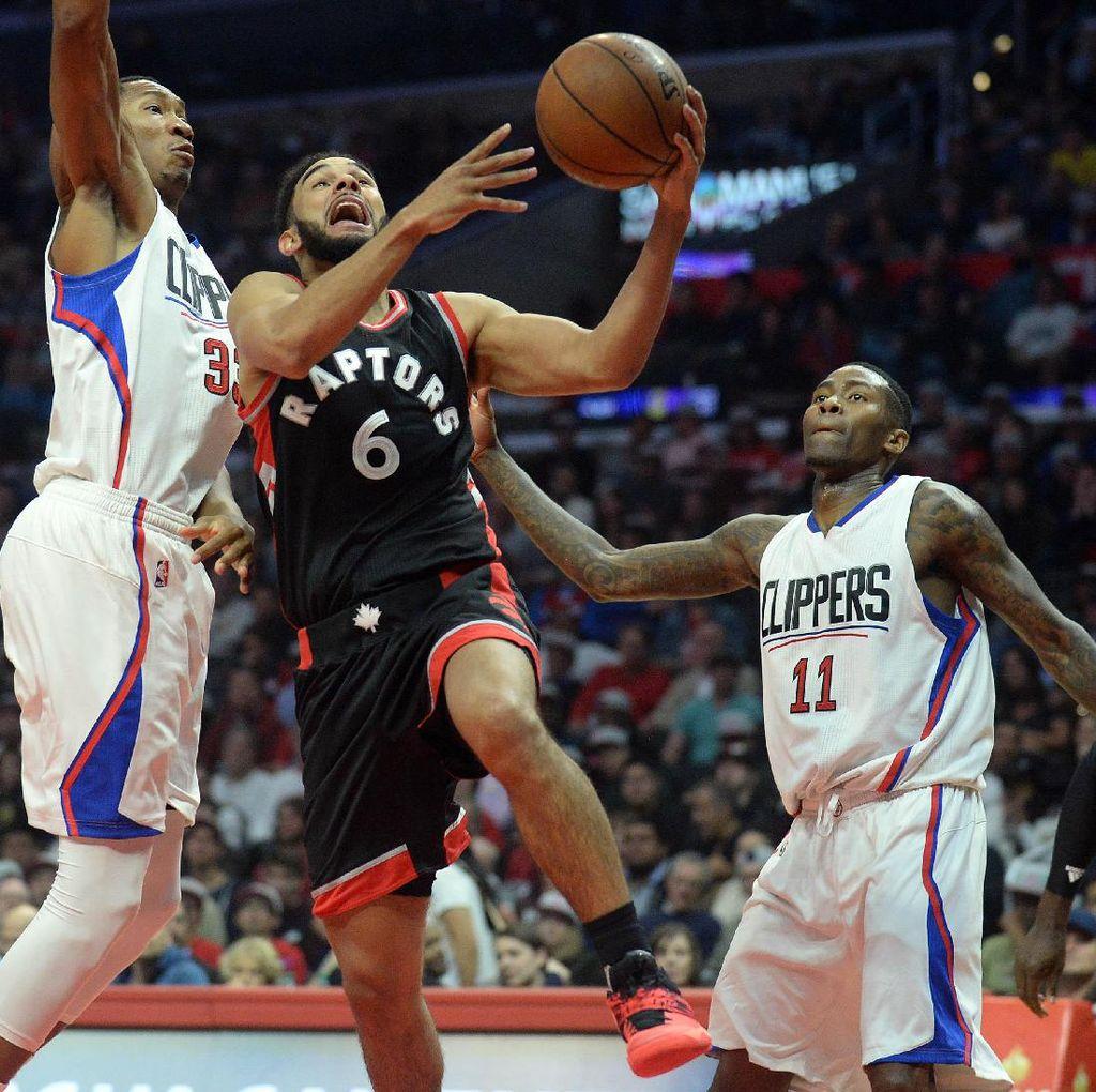 Clippers Menang Saat Menjamu Raptors