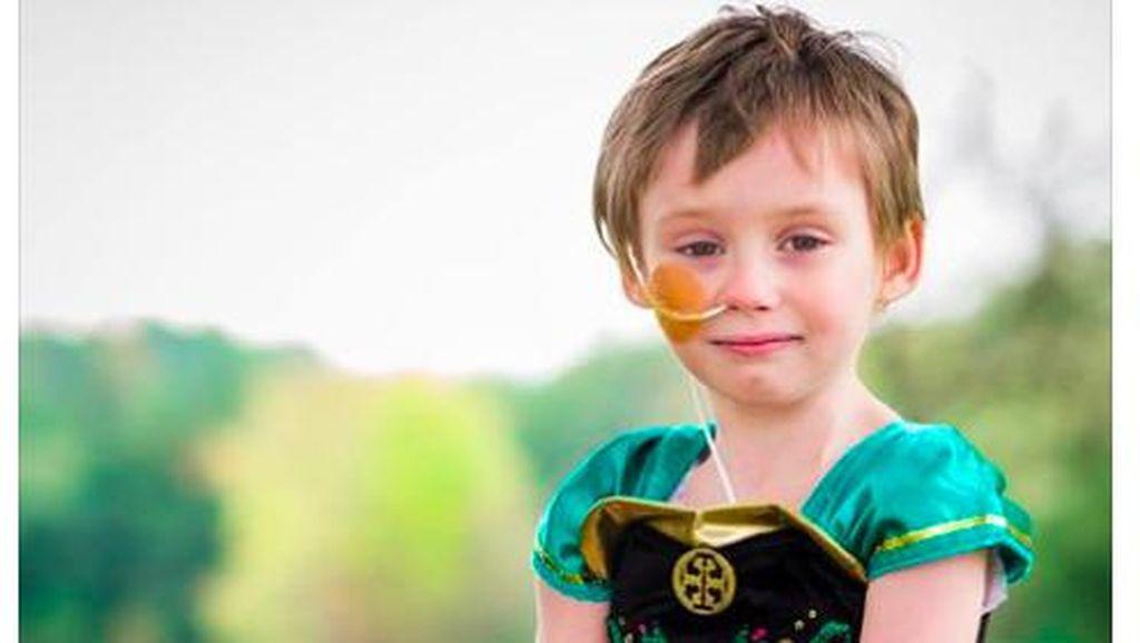 Tingkatkan Kewaspadaan, Ayah Ini Bagikan Foto Perjuangan Putrinya Lawan Kanker