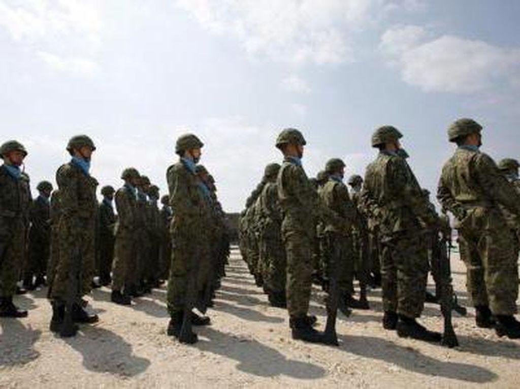 Pertama Kalinya Sejak PD II, Jepang Kirim Pasukan Perdamaian PBB