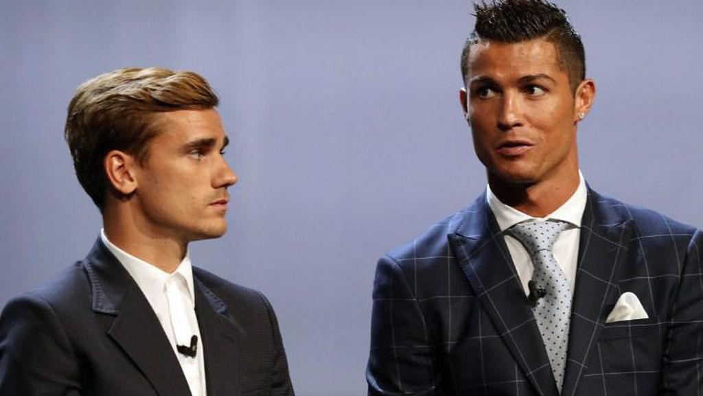 Griezmann Benar Bilang Benci kepada Ronaldo, tapi...