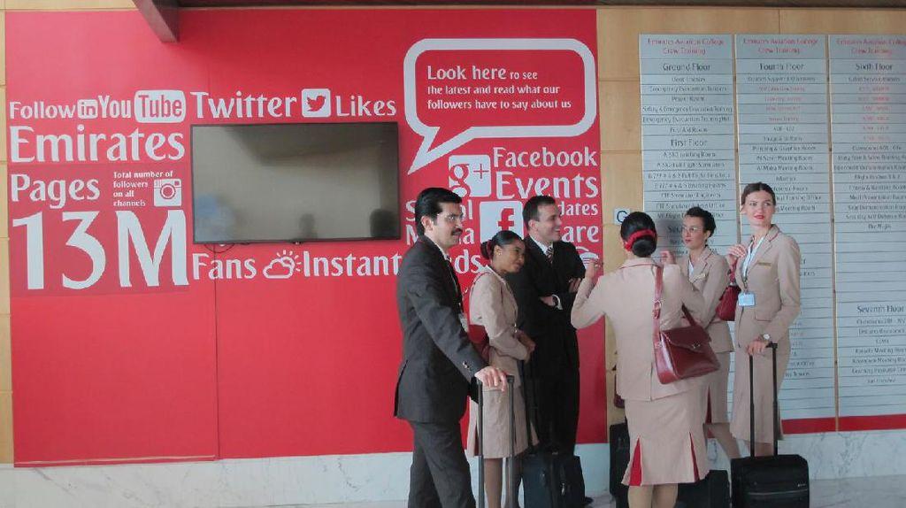 Inilah Markas Pramugari Emirates di Dubai